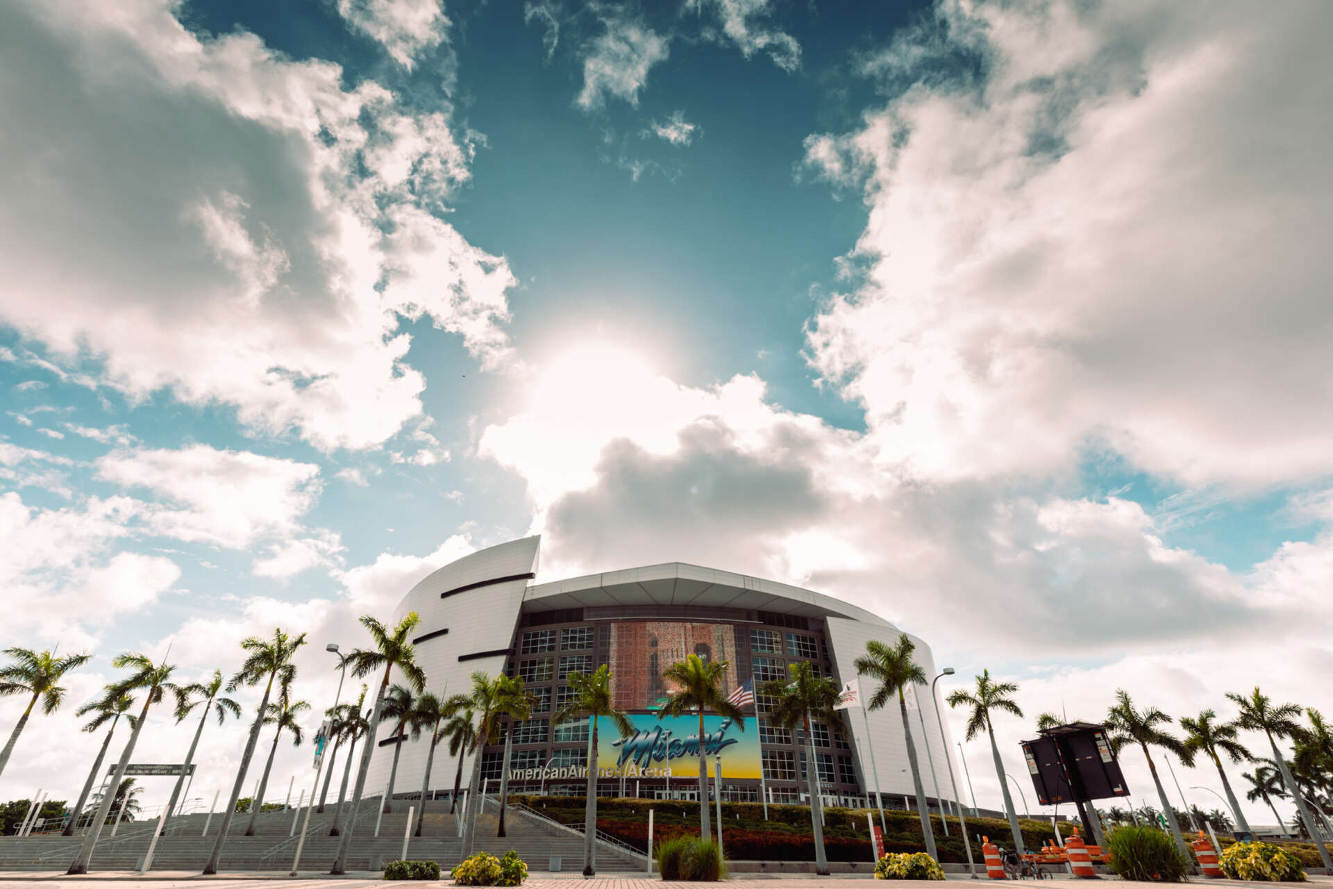 american airlines arena downtown miami