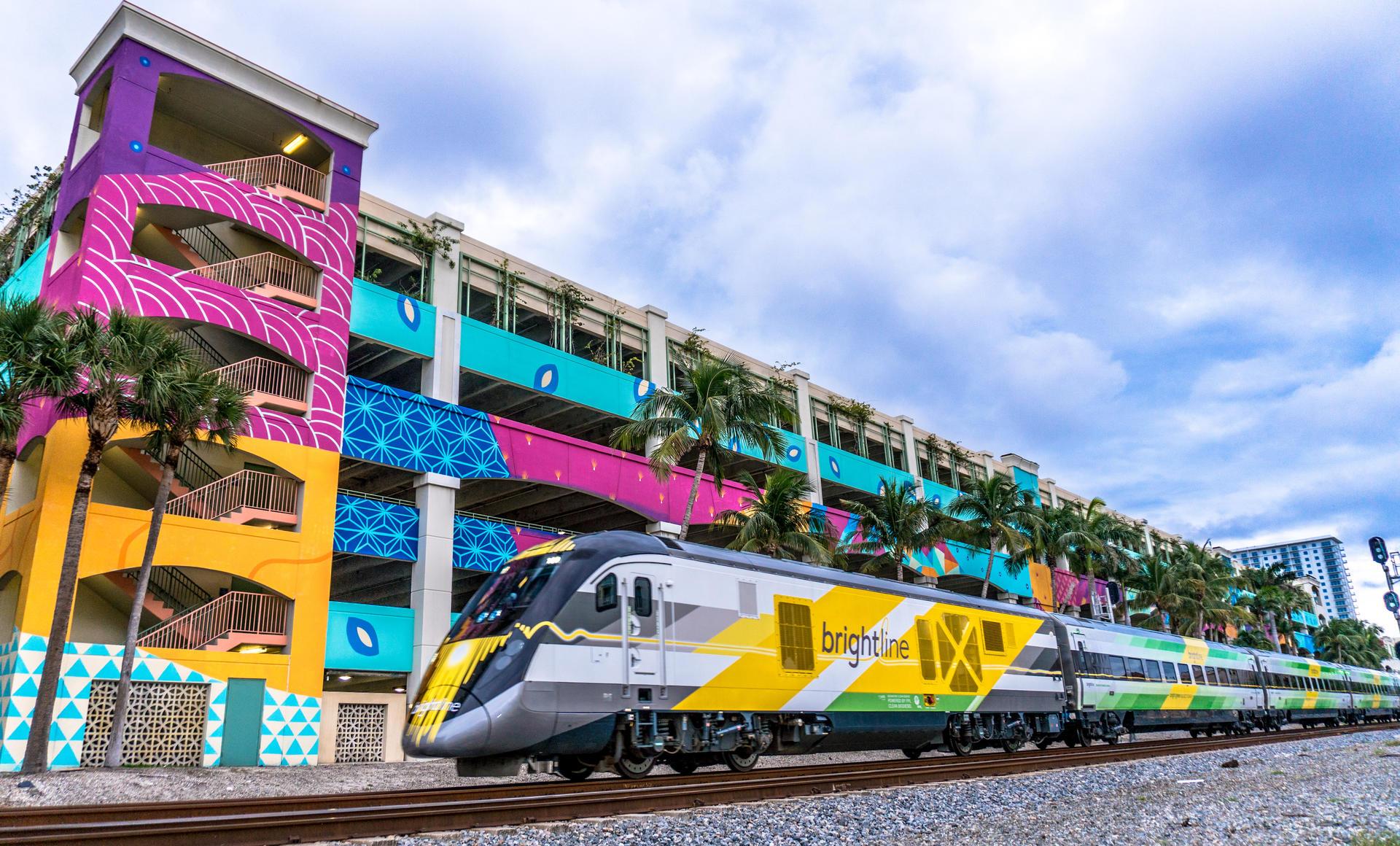 Treno alta velocità: ci vorranno poche ore per collegare Miami e Orlando